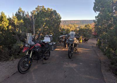 camping natural bridges