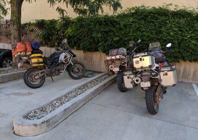 moab hotel parking