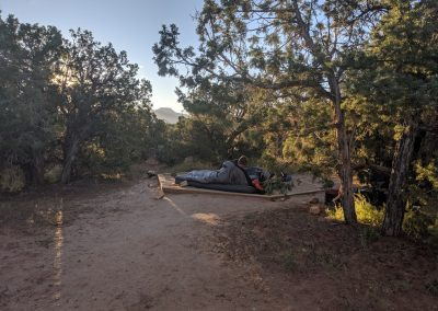 rod camping natural bridges