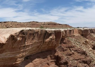 white rim road canyon rest pano