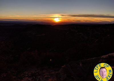 Sunset night 2 looking towards Utah