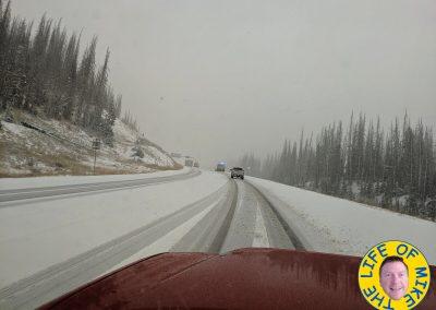 Snow on Wolf Creek Pass