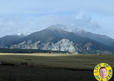 Mount Antero with early snow