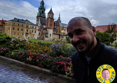 Kuba at Krakow Castle - Poland