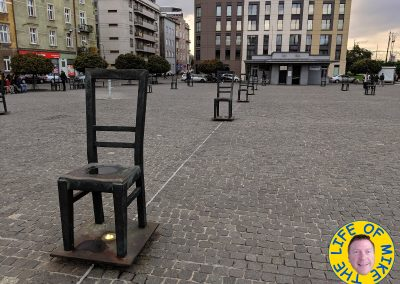 The Ghetto Heroes Square Chair Memorial