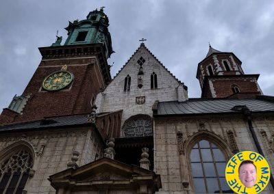 The Royal Archcathedral Basilica of Saints Stanislaus and Wenceslaus on the Wawel Hill, Krakow