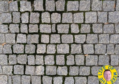 Cobblestone sidewalk - Prague