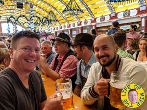Kuba and Mike at Oktoberfest in Munich 2019