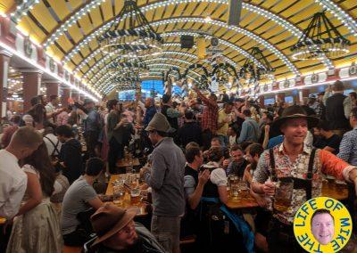 Löwenbräu Tent Oktoberfest - Muncih
