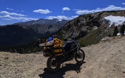 Central Colorado Solo Cycle Trip
