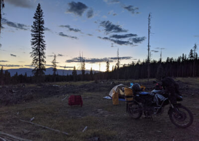 Sunset Just West of Cottonwood Pass