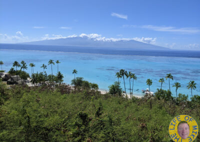 Looking at Tahiti from Moorea